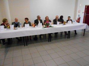 Banquet du club 10-10-2015 table d'honneur