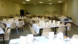 Banquet 2016, nouvelle  disposition des tables