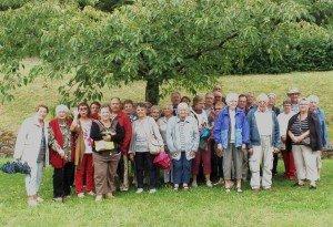 voyage à Nanteuil visite du Cormenier juillet 2017